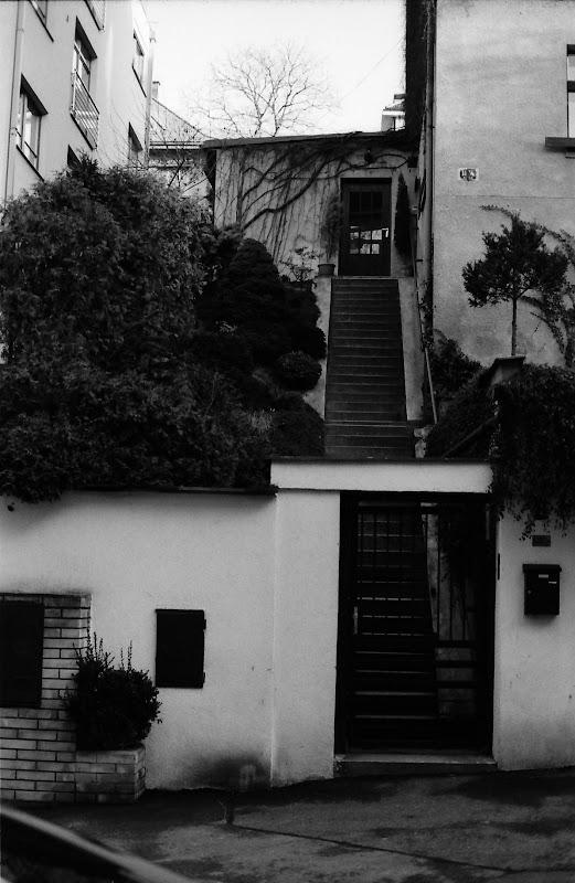 Wednesday Doorway - With stairs, Prague