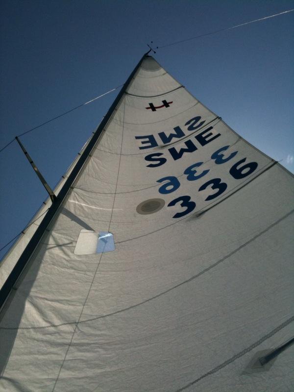 fäste för segel