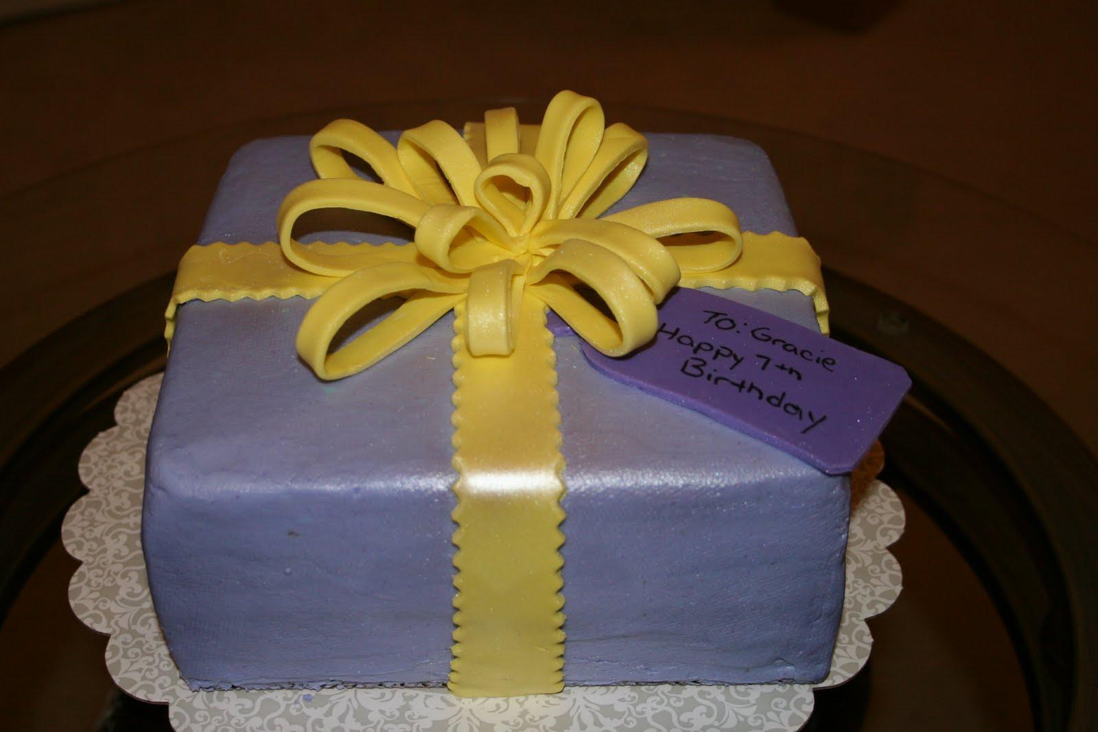 Rachels Creative Cakes Birthday Present Cake