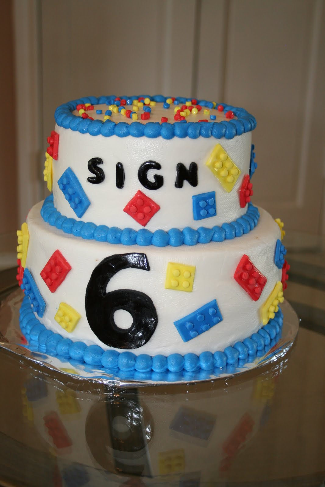 Rachel S Creative Cakes Lego Cake