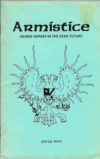 Armsitice by John Hay Wirth, copyright 1995 Renaissance Ink, 22 digest-sized pages.