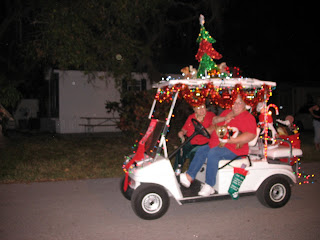 Golightly Place: Golf Cart Parade, Anyone? on