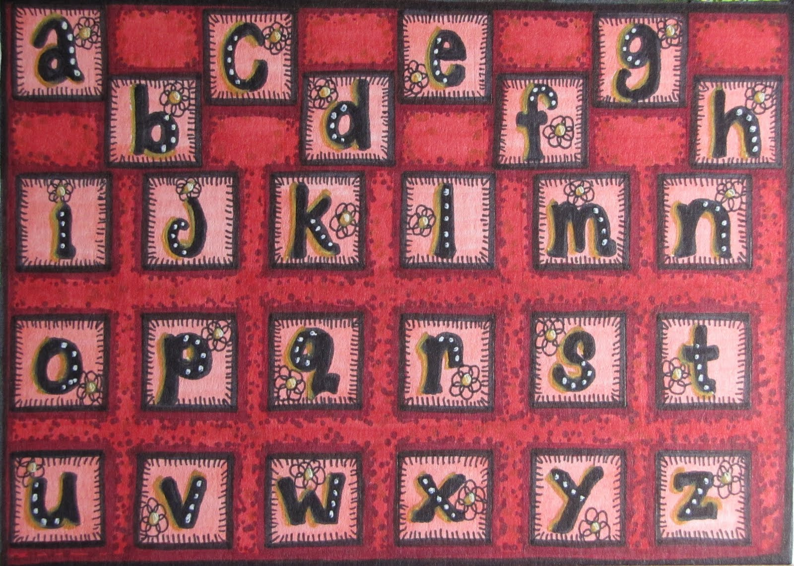 Kelly's Art Journaling: Creative Lettering Alphabets