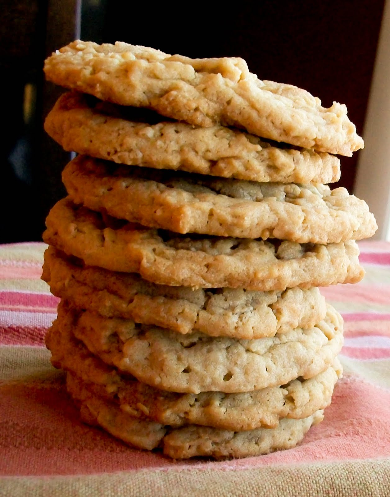 The Farm Girl Recipes: Peanut Butter Oatmeal Cookies
