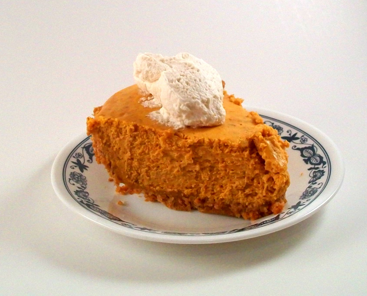 The Farm Girl Recipes: Pumpkin Cheesecake Pie