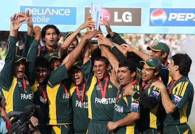 Pakistani Cricket Team - Voting 4 Sports Competition February 2011