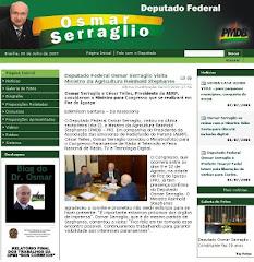 Website Oficial - vídeos, pronunciamentos e notícias sobre o deputado - CLIQUE E ACESSE