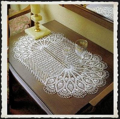 Mi crochet centro de mesa a crochet for Centro de mesa a crochet
