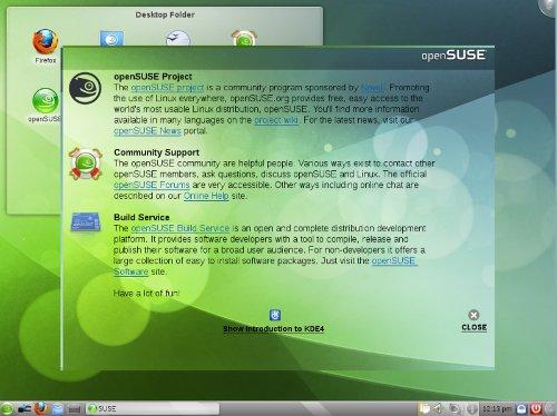 openSUSE 11.3 KDE Desktop