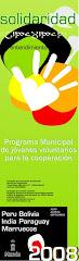 Plan Municipal Jovenes Voluntarios para la Cooperación 2008