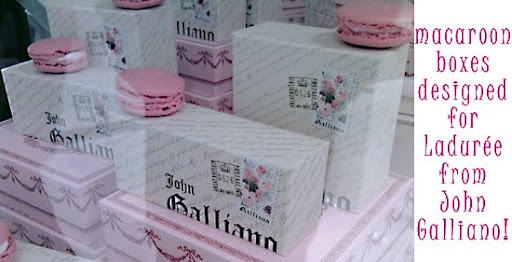 John Galliano for Ladurée