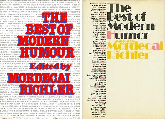benny by mordecai richler essay Benny goodman: bei mir bist du schön barney's version by mordecai richler letters and papers from prison ed.