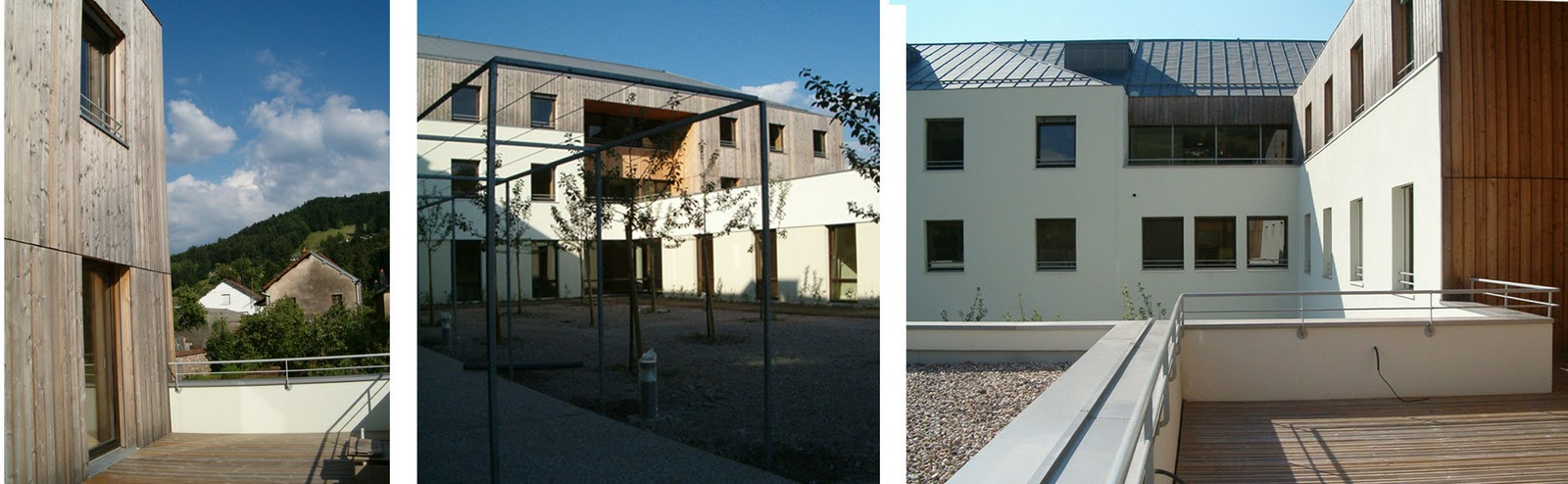Op architecture free lance for Architecture maison de retraite