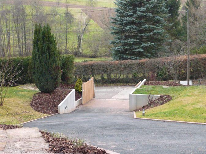 Op architecture un jardin en pente - Amenagement paysagerjardins exceptionnels a decouvrir ...