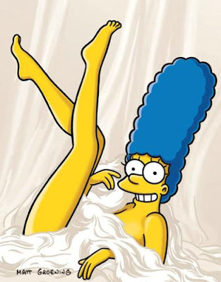 De Noviembre La Famosa Revista Para Se Ores Playboy Marge Simpson