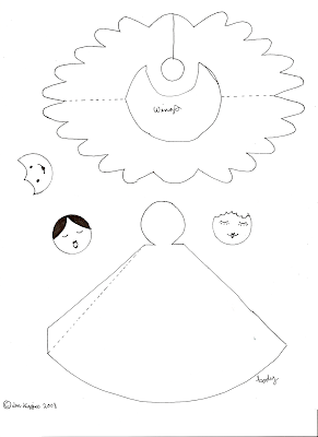 Angel Wing Templates Printable