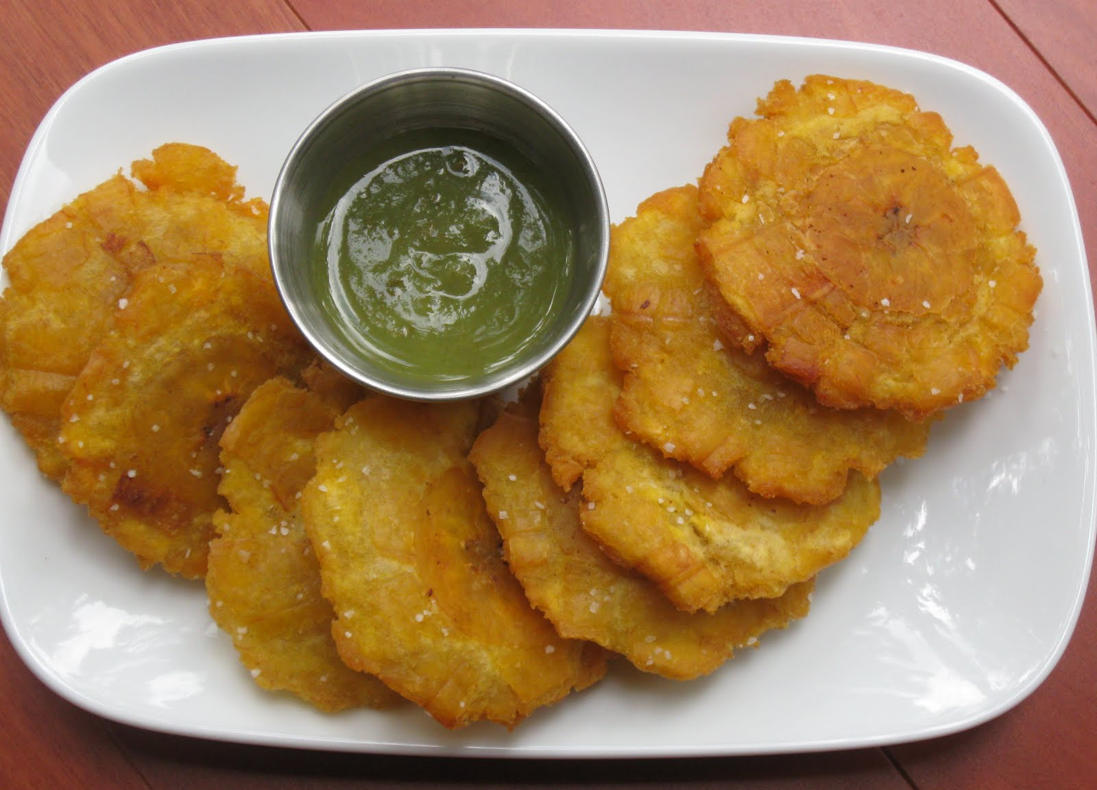 food i make: Tostones