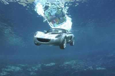 First Submergible Car