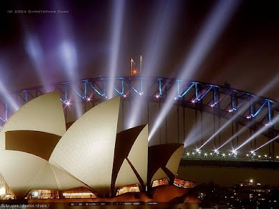 Opera House in Sydney - Amazing night picture
