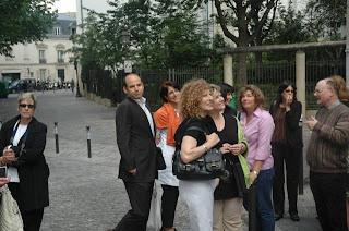 On Montmartre with François Duquesne