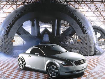 Planet Dcars 1995 Audi Tt Coupe Concept