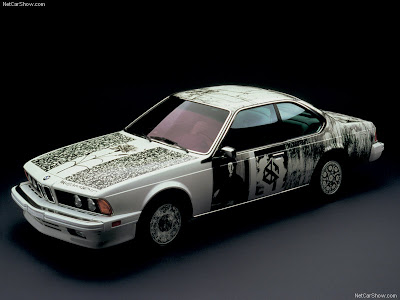 BMW 635CSi. Engine: inline-6, 3453 cc. Power: 215 hp (160 kW) at 5200 rpm