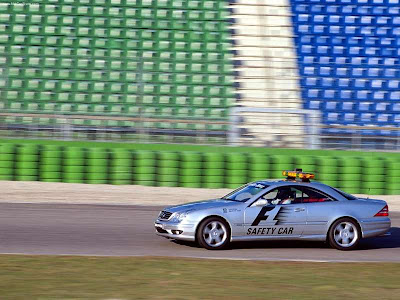 2000 Mercedes Benz Cl55 Amg F1 Safety Car. 2000 Mercedes-Benz CL55 AMG F1