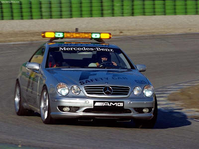 Auto Farbod - 2000 Mercedes-Benz CL55 AMG F1 Safety Car