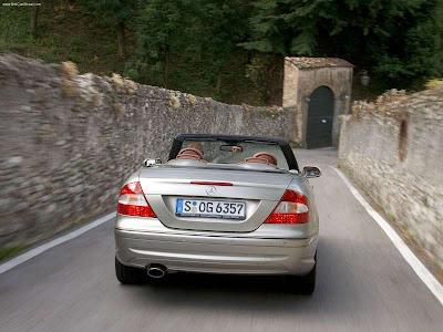 designo by Giorgio Armani. Mercedes-Benz CLK-Class W209
