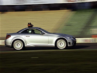 Mercedes-Benz SLK55 AMG F1 Safety Car. Mercedes-Benz SLK-Class R171