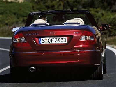 Mercedes-Benz CLK320 CDI Cabriolet Avantgarde
