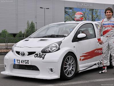 2007 Toyota 1x Concept. 2008 Toyota Aygo Crazy Concept