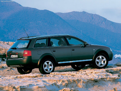 The Audi allroad Quattro was an Wagon crossover