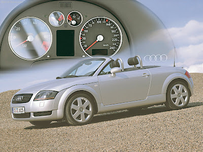 Audi TT Roadster Audi TT The production model was launched as a coupé in