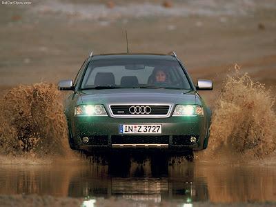 2004 Audi Allroad Quattro. The Audi allroad Quattro was