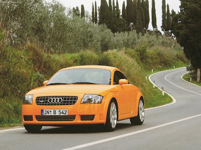 Audi TT 3.2 DSG quattro. Audi TT The production model was launched as a