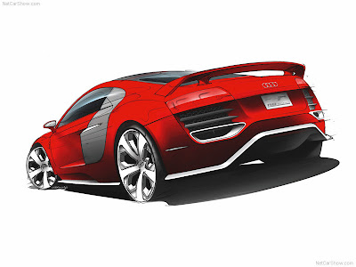 Audi R8 TDI Le Mans Concept Audi is presenting a revolution in the top class