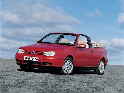 Planet Dcars 1998 Volkswagen Golf Cabriolet