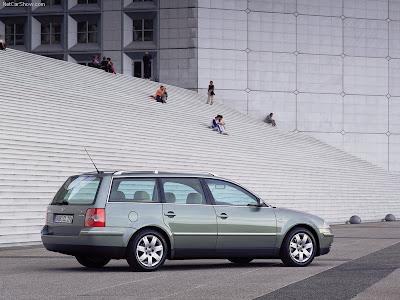 2000 Volkswagen Aac Concept. 2000 Volkswagen Passat Variant