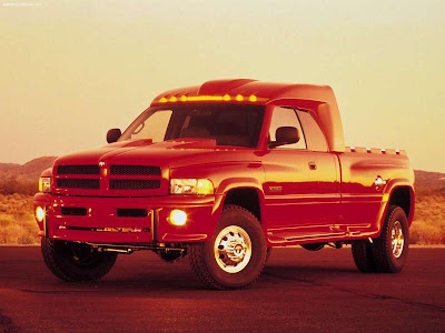 1998 Dodge Big Red Truck Concept