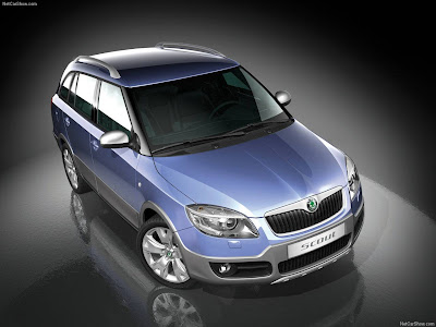 Škoda Fabia Scout concepto se basa en el nuevo Fabia Combi y tiene una serie