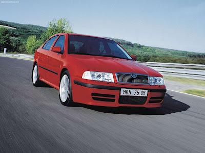2001 Skoda Octavia Rs. Škoda Octavia y el Škoda