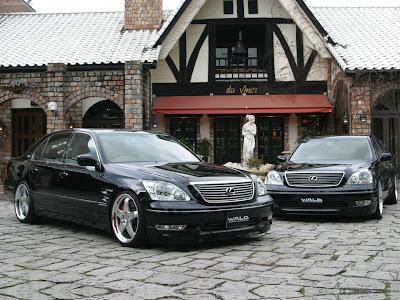 2004 Wald Lexus Ls. Wald Lexus LS (2004)