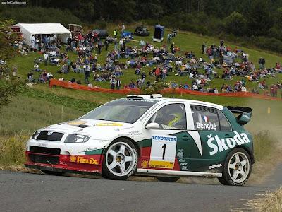 2005 Skoda Fabia WRC 05 | Skoda Cars
