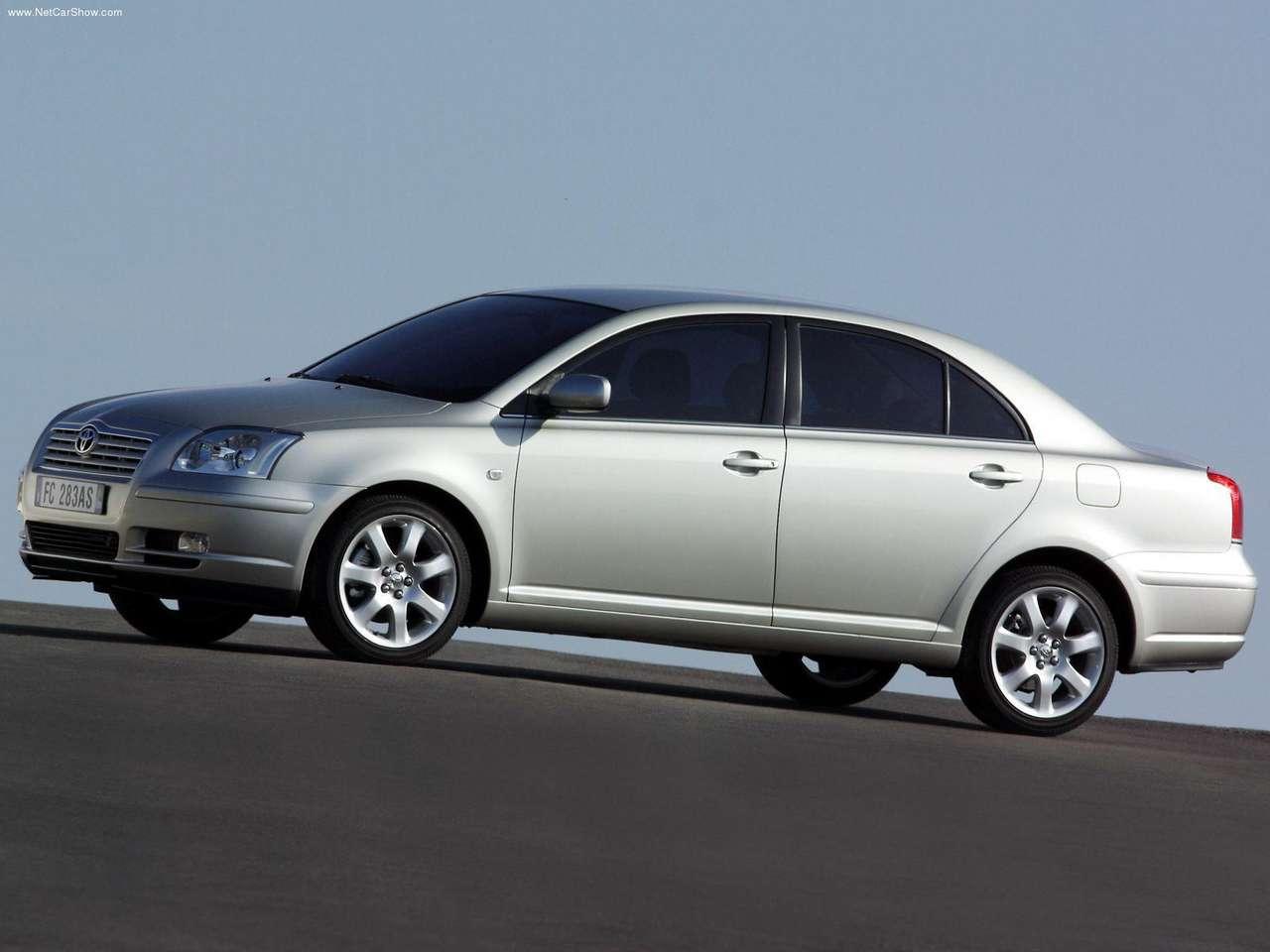 2003 toyota avensis sedan toyota autos spain. Black Bedroom Furniture Sets. Home Design Ideas