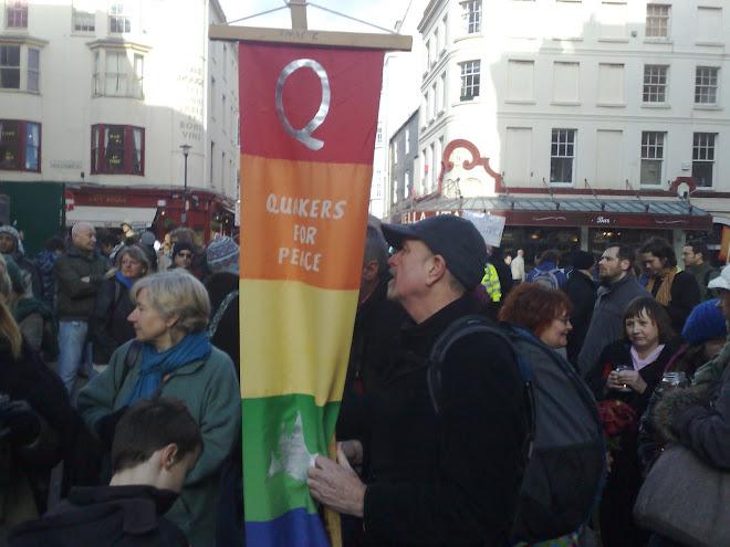 QUACKERS PEACE DELEGATE.