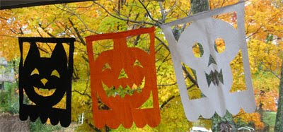 halloween banners decorations