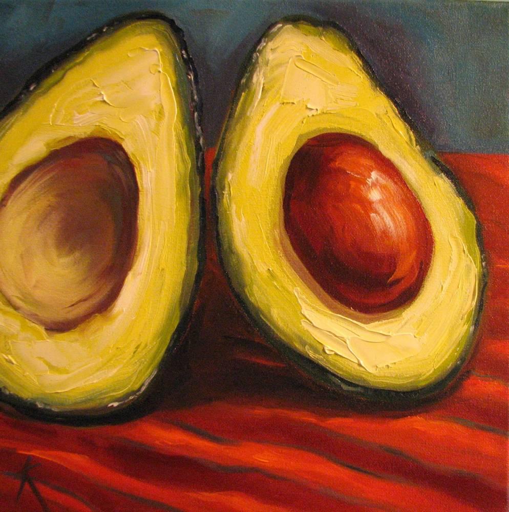Paul Cezanne Painting Avocado