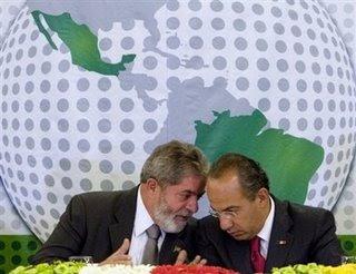 Lula inicia processo para acordo estratégico com o México.