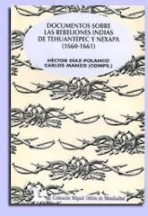 Documentos sobre rebeliones indias de Tehuantepec y Nexapa (1992)